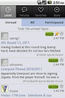 Screenshot of PL Forum