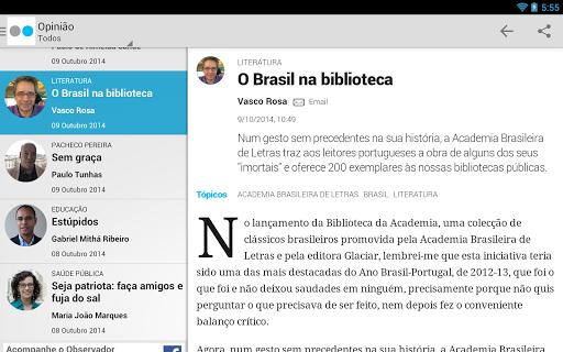 【免費新聞App】Observador-APP點子