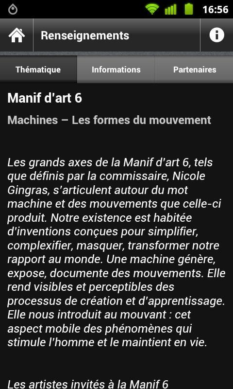 Manifdart6– Capture d'écran
