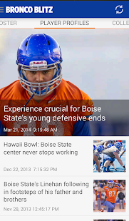 Bronco Blitz - BSU sports news - screenshot thumbnail