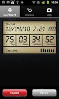 Screenshot of gps4cam