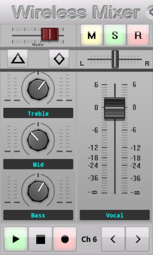 【免費音樂App】Wireless Mixer-APP點子