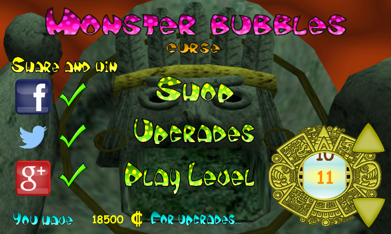 Monster Bubbles Curse (Pang) screenshot #11