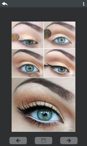 Eyes makeup step by step 3