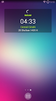 Screenshot of Imsakiyah Widget 1436H