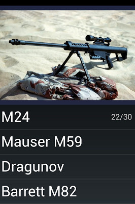 Name That Gun Quiz - screenshot