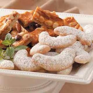 Pecan Crescent Cookies.