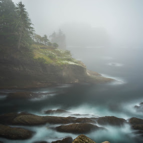 Cape Flattery by James Case - Landscapes Waterscapes ( tides, beaches, nature, cape, cove, ocean, landscape, rocks,  )