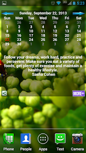 Inspiration Calendar - screenshot thumbnail