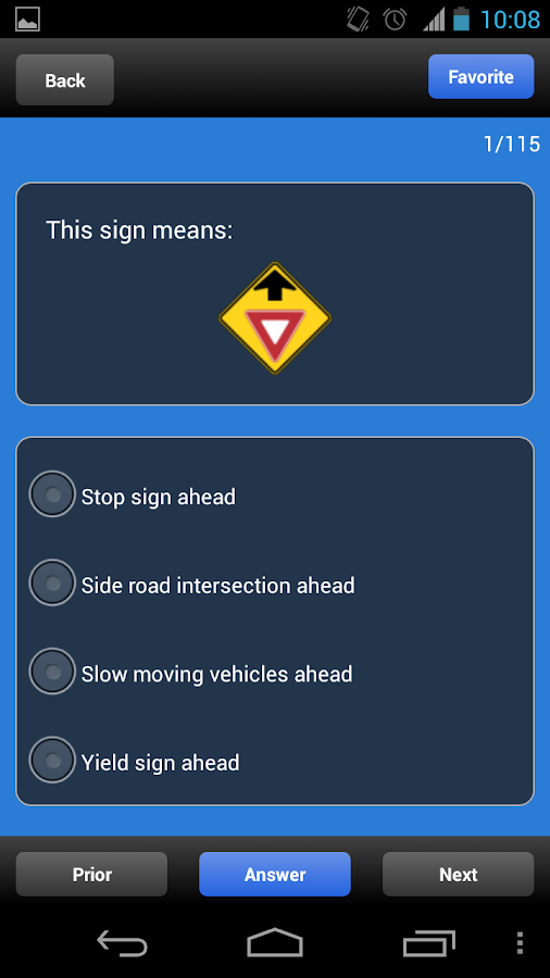 US DMV Driving Tests - screenshot