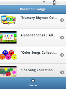 Preschool Kids Songs