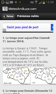 Météo 64- screenshot thumbnail