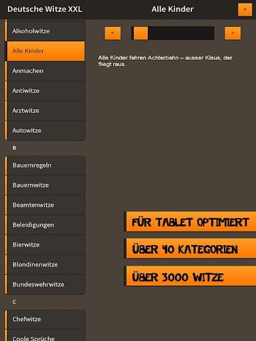 android Deutsche Witze XXL Screenshot 2