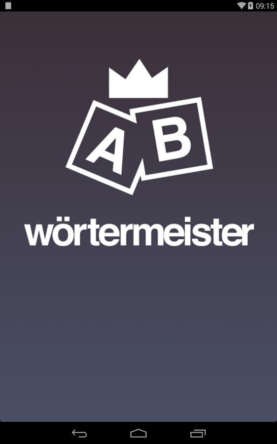 wörtermeister- screenshot