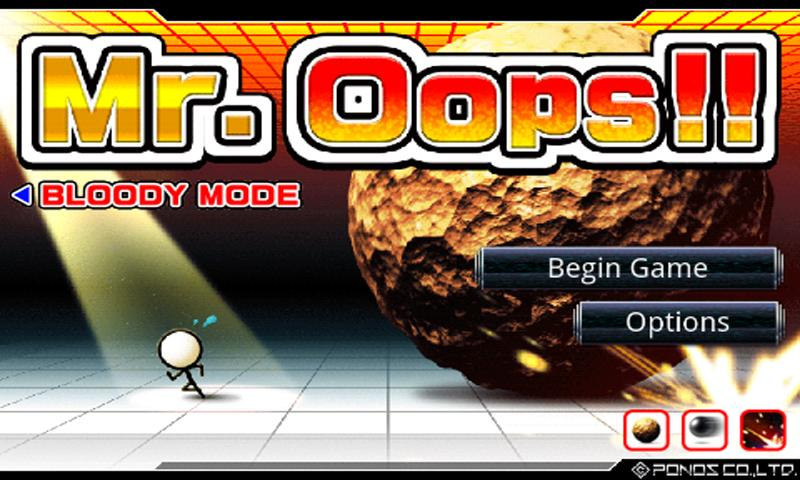 Mr.Oops!!- screenshot