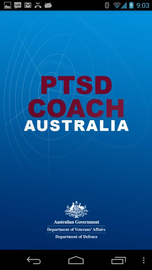 PTSD Coach Australia - screenshot