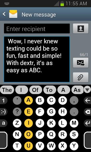 Dextr dictionary: US English