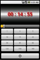 Screenshot of Countdown Timer