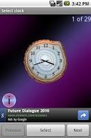 Screenshot of Mineral Clock deluxe