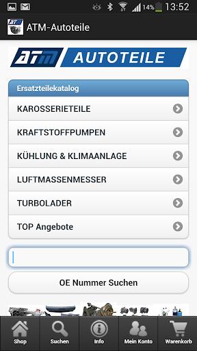 (APK) تحميل لالروبوت / PC ATM-Autoteile تطبيقات screenshot