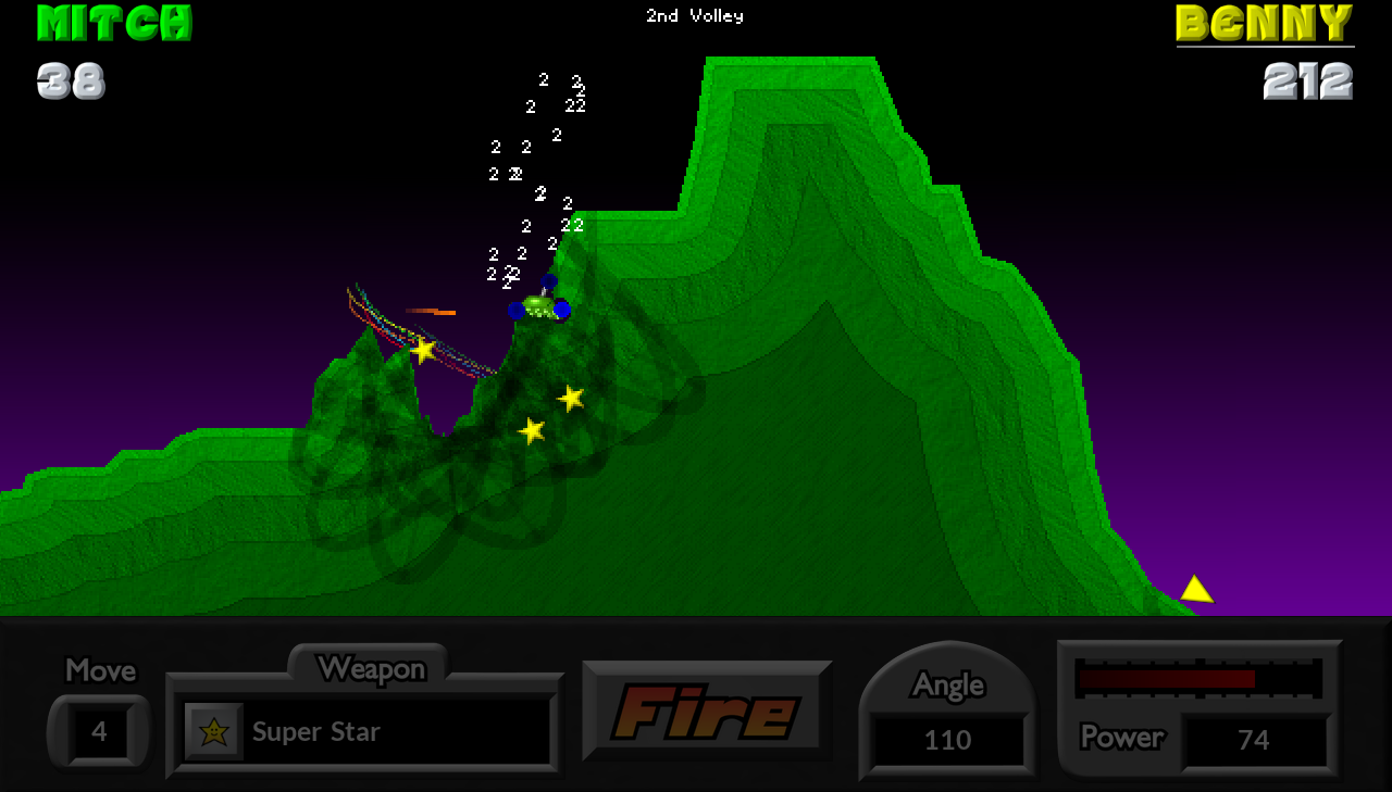 Pocket Tanks - screenshot