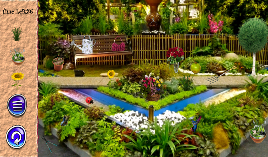 Hidden objects amazing gardens android apps on google play for Amazing small gardens