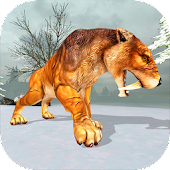 Sabertooth Tiger Chase Sim