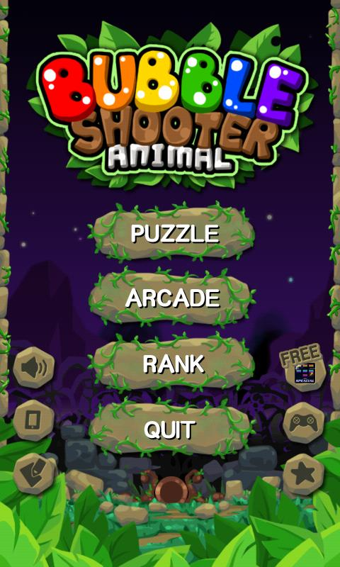 Bubble shooter animal - screenshot