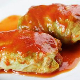 Fancy Cabbage Rolls.