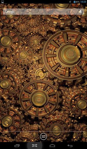 Gears of Gold Live Wallpaper