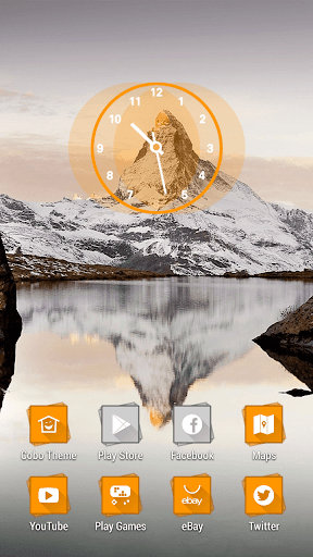 Nightfall Snowberg Alps Theme