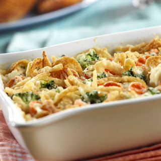 Swiss Vegetable Casserole.