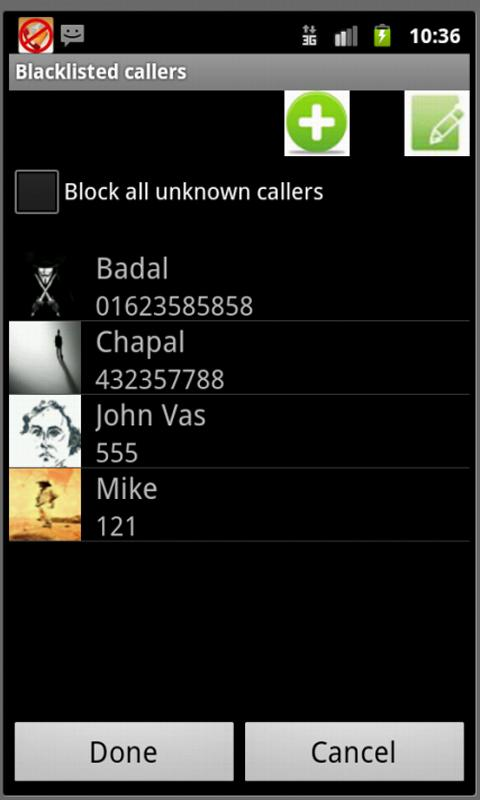 Smart Call Blocker - screenshot