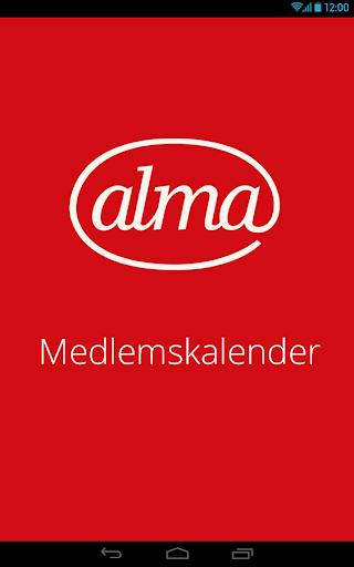 Medlemskalendern Alma