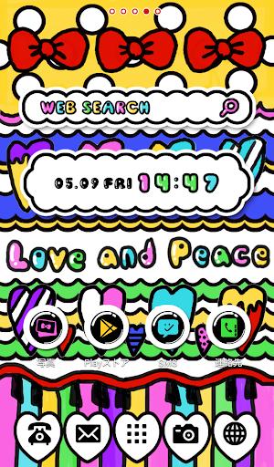 可愛換裝桌布★Love and Peace