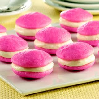 Pink Velvet Whoopie Pies.