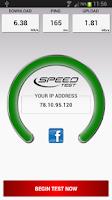Screenshot of Speed Test Light