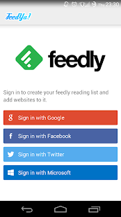 Feedya! | RSS News Feedly |- screenshot thumbnail