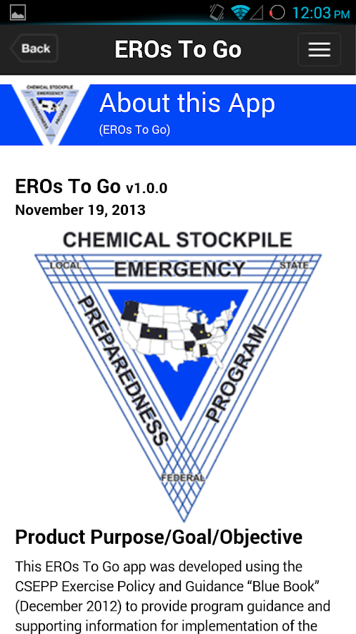 EROs To Go- screenshot