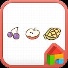 私は果物が好きドドルランチャのテーマ icon
