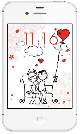 Love Funny Draw live wallpaper