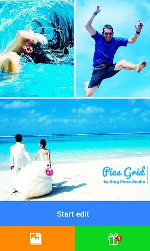 Pics Grid - Photo Art Color