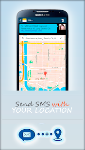 SMS Location Messenger - screenshot thumbnail