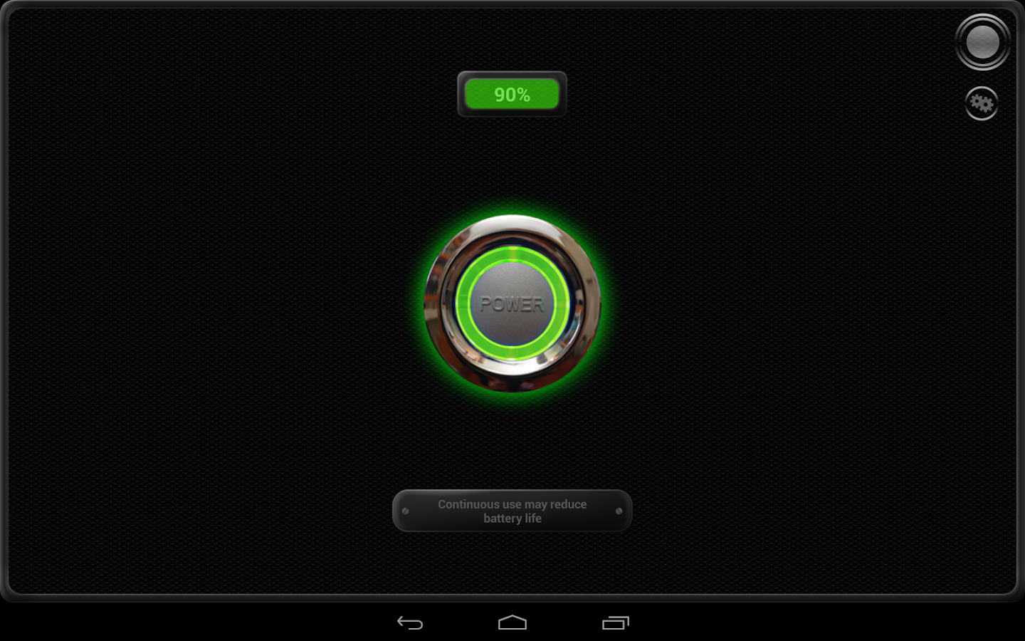 Latarka - Tiny Flashlight ® - screenshot