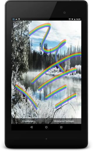 【免費個人化App】Touch the Rainbow Wallpaper-APP點子