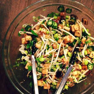 Crispy Tofu Salad.