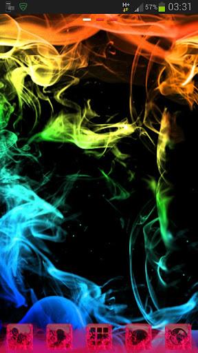 GO Launcher rainbow smoke Buy