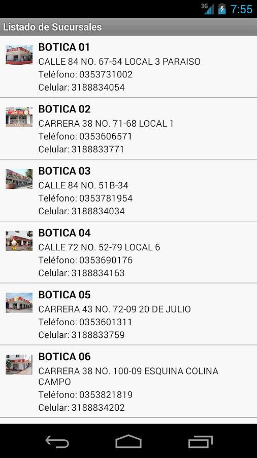 Drogueria La Botica- screenshot
