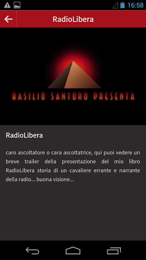 RADIO ON STAGE - screenshot