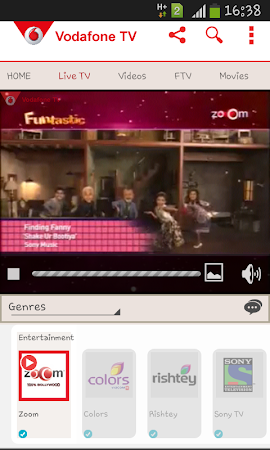 Vodafone Mobile TV Live TV 30 screenshot 296270